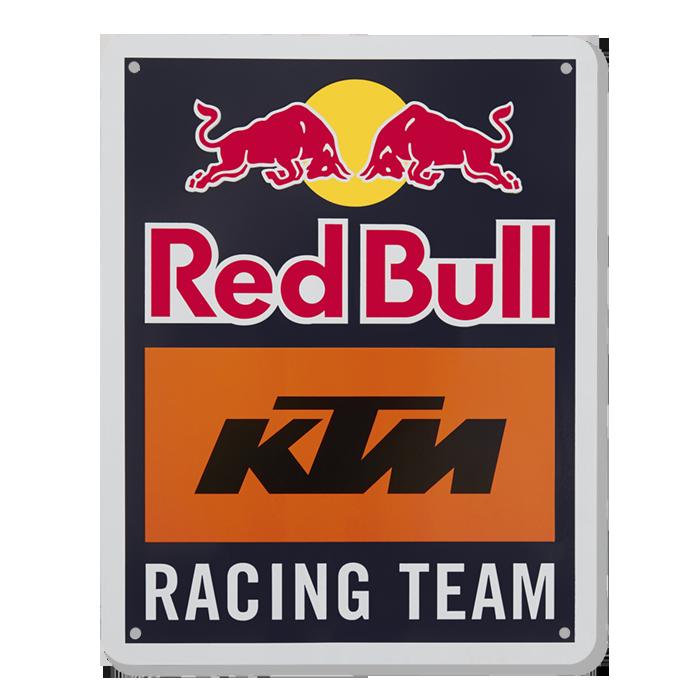 2019 Red Bull KTM Racing MotoGP MX Team Metal Sign Logo Size is 165x210x3mm