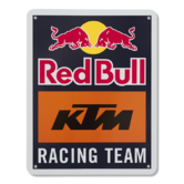 2019 Red Bull KTM Racing MotoGP MX Team Metal Sign Logo Size is 165x210x3mm