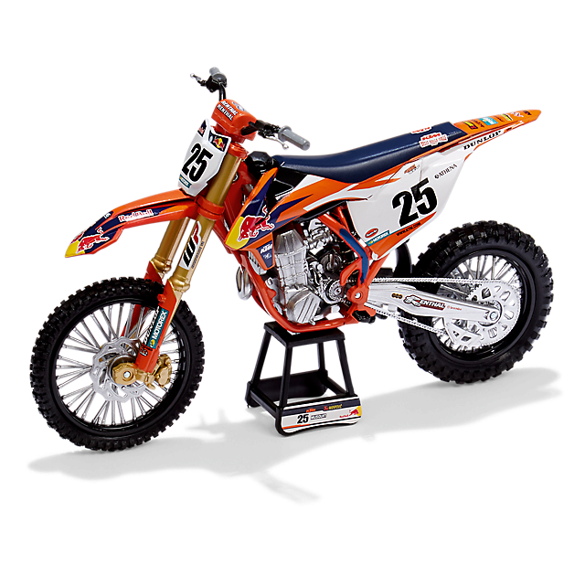 Marvin Musquin #25 Red Bull KTM 450 SX-F 1/10 Diecast Model MXGP Motocross Bike