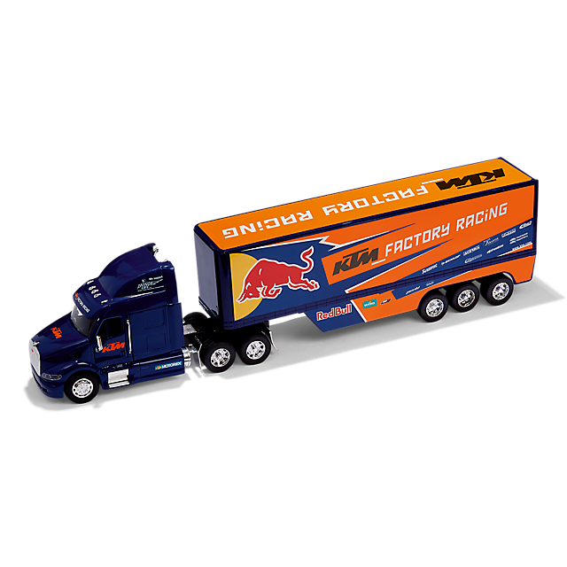 Red Bull KTM Factory Racing Team Truck 1/32 Scale Diecast Model Length 600mm