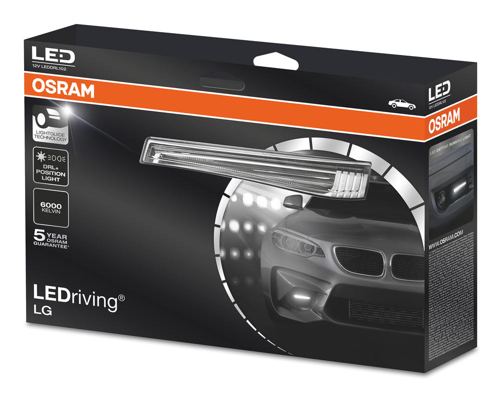 OSRAM LEDdriving LG 6000K Daytime Running Lights Kit Accessory Lights LED DRL102