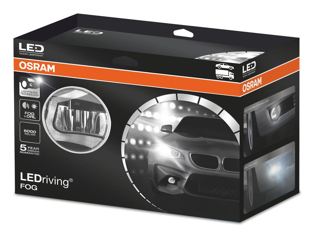 OSRAM LEDdriving LED Fog Lights Kit with Daytime Running Lights DRL LEDFOG102