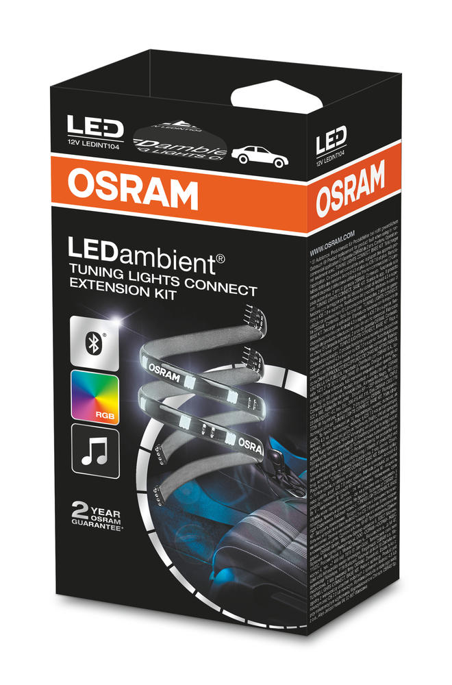 LEDINT104 OSRAM LEDambient in car TUNING LIGHTS CONNECT EXTENSION KIT 310mm LED