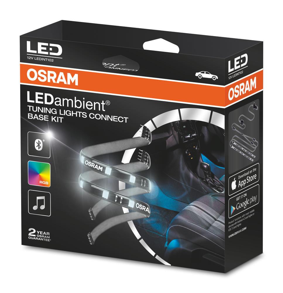 LEDINT102 OSRAM LEDambient in car TUNING LIGHTS CONNECT BASE KIT App Bluetooth
