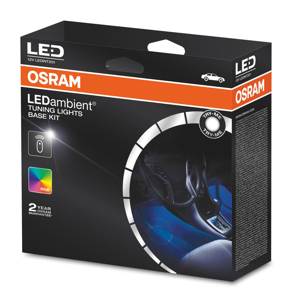 LEDINT201 OSRAM LEDambient TUNING LIGHTS BASE KIT App Controlled Lights & Sound