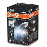 Osram P13W 5828CW Premium SL LED Cool White 6000K Bulb DRL Daytime Running Light