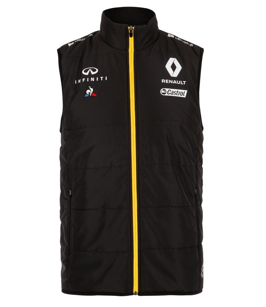 2019 Renault F1 Team Official Mens Gilet Bodywarmer Sleeveless Padded Jacket