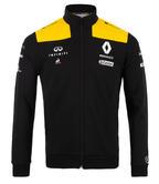 2019 Renault F1 Team Official Mens Sweatshirt Jumper Sweater Black/Yellow Zip-up