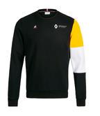 2019 Renault F1 Team Official Mens Fan Crewneck Sweatshirt Jumper Black/Yellow