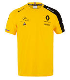 2019 Nico Hülkenberg #27 F1 Driver T-Shirt Official Renault F1 Team Merchandise