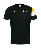 2019 Renault F1 Team Fan T-Shirt BLACK Tee in 100% Cotton Mens Sizes S-XXL