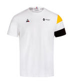 2019 Renault F1 Team Fan T-Shirt WHITE Tee in 100% Cotton Mens Sizes S-XXL