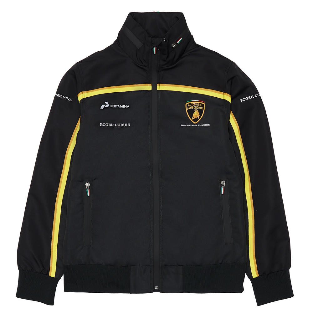 Special Edition Lamborghini Squadra Corse Ladies Windbreaker Jacket Coat Womens