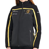 Special Edition Lamborghini Squadra Corse Ladies Softshell Fleece Jacket Womens