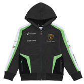 Lamborghini Squadra Corse Childrens Kids White Hoodie GT3 Racing Ages 3-12