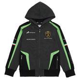 Lamborghini Squadra Corse Childrens Kids Black Hoodie GT3 Racing Ages 3-12