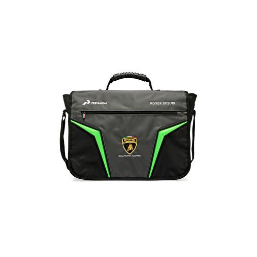 Lamborghini Squadra Corse Official Messenger Bag GT3 Team Racing Laptop Holder