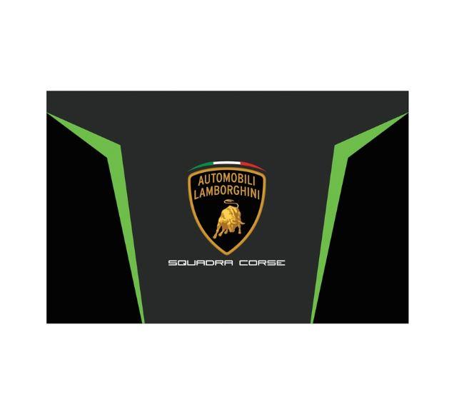 Lamborghini Squadra Corse Official Supporters Flag GT3 Team Racing 130x90cm