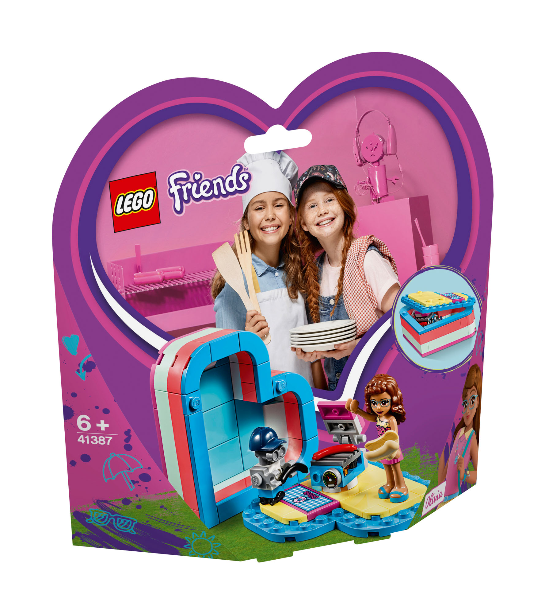 LEGO FRIENDS Olivia/'s Summer Heart Box 41387