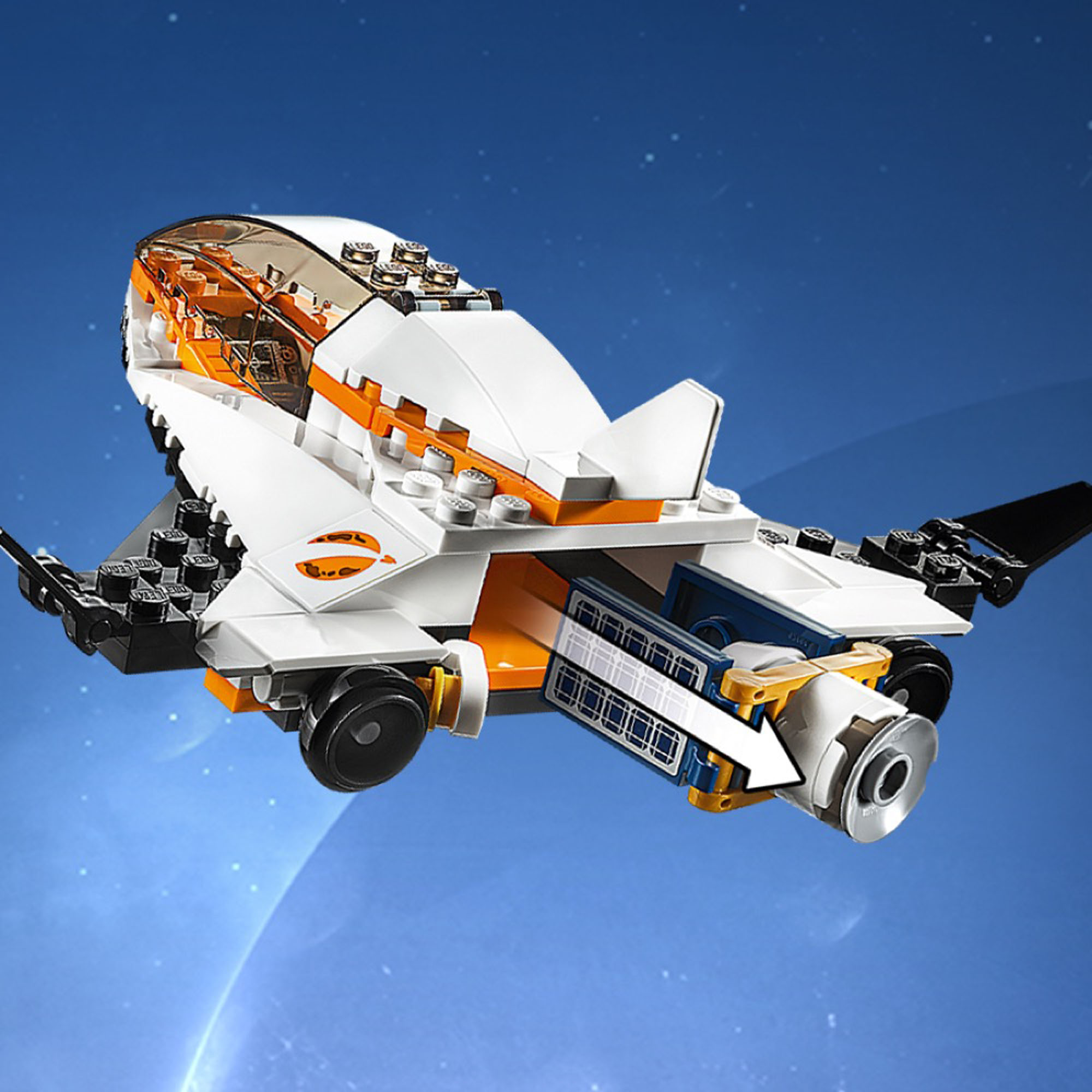60224 LEGO City Space Port Satellite Service Mission Space ...
