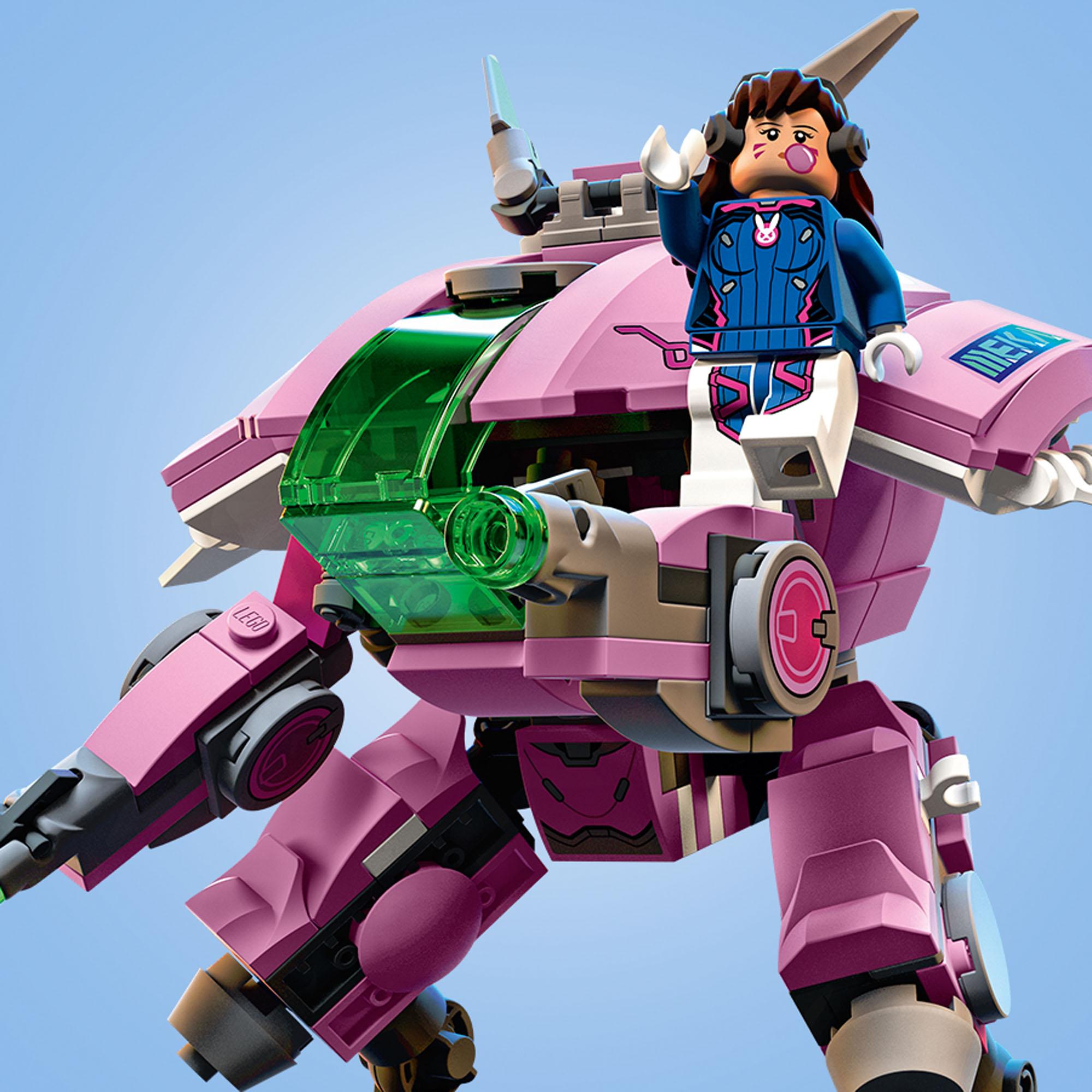 75973 LEGO Overwatch D.Va & Reinhardt Buildable Mech Suit ...
