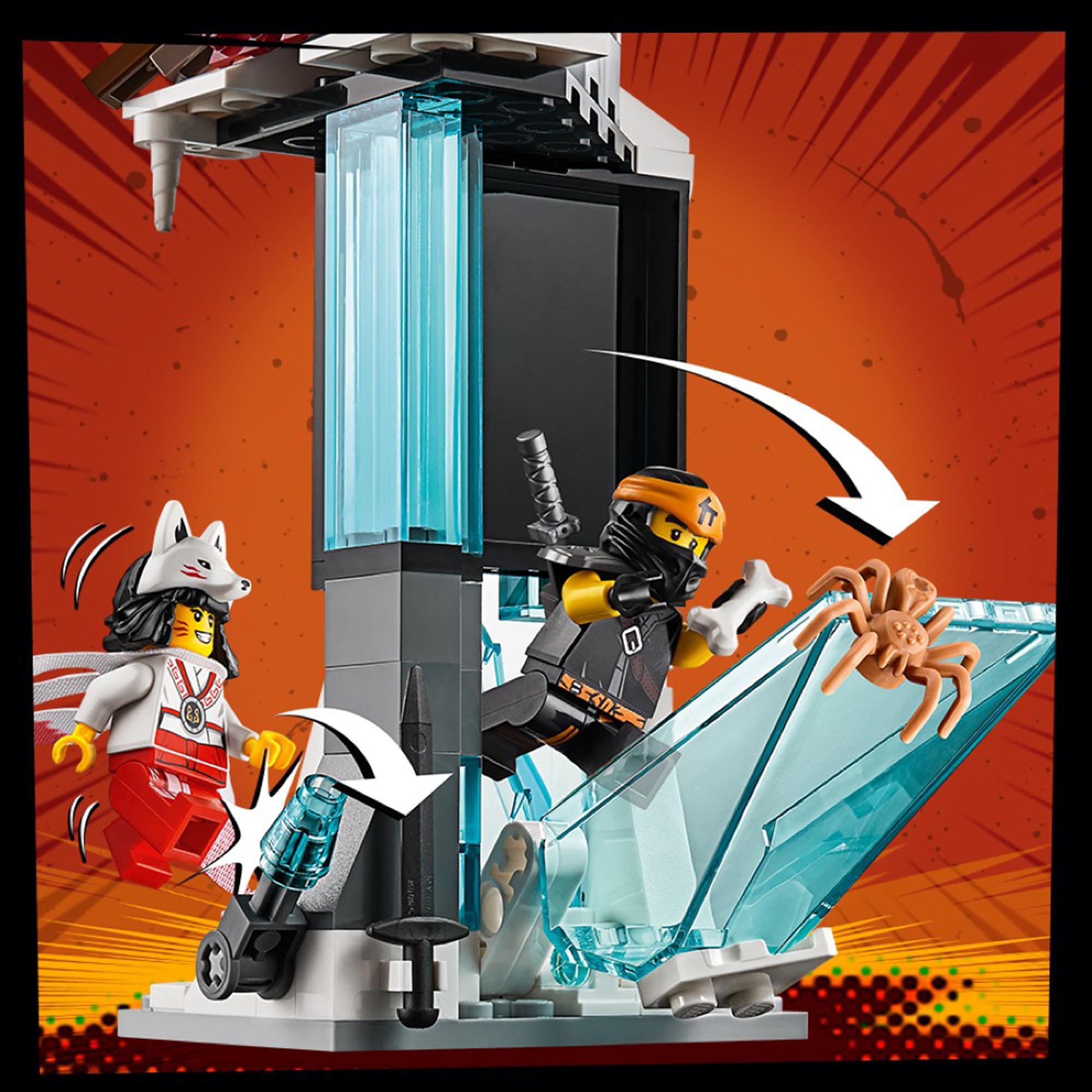 70678 LEGO Ninjago Castle of the Forsaken Emperor with Ice ...