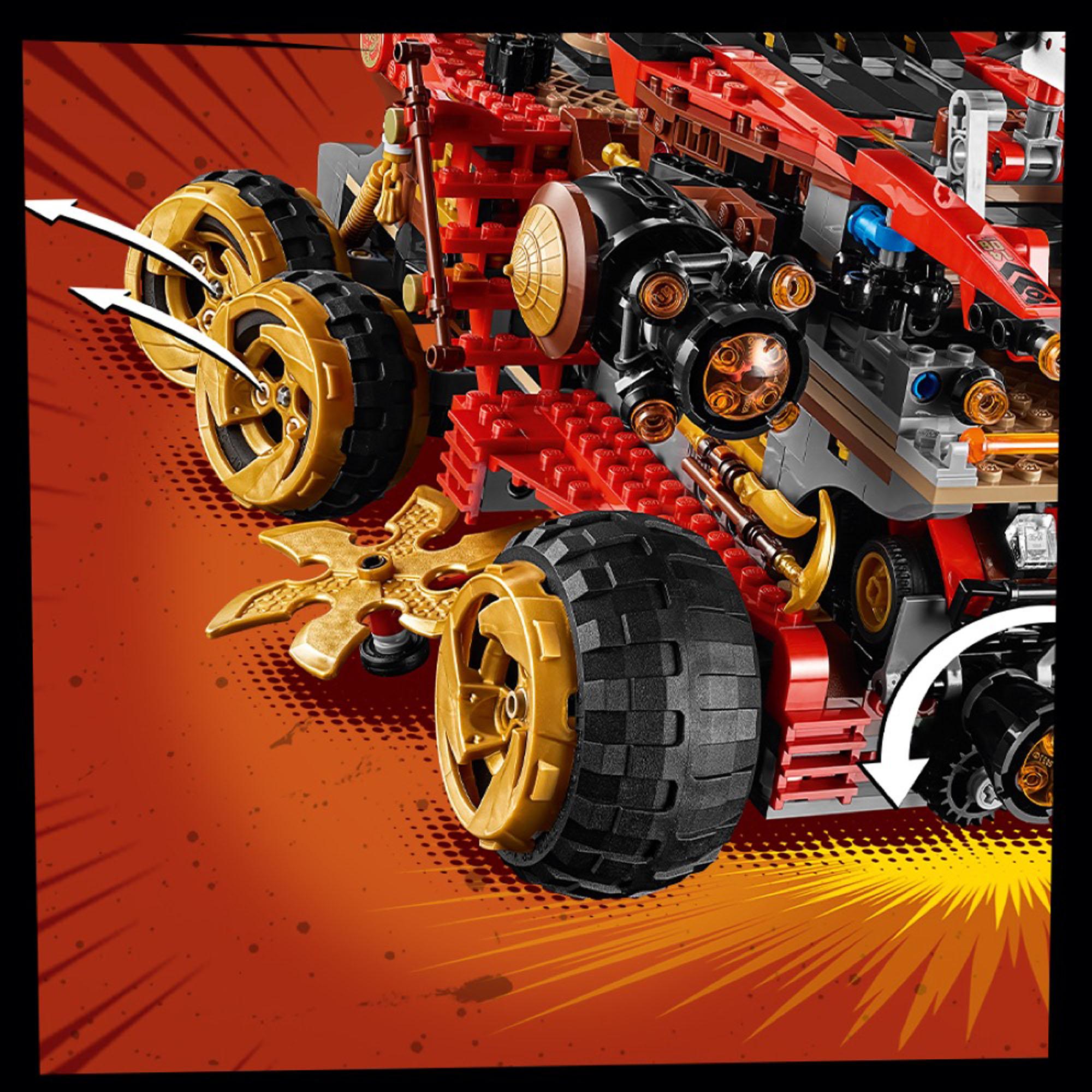 70677 LEGO NINJAGO LAND BOUNTY VEICOLO ACTION-imballato ...
