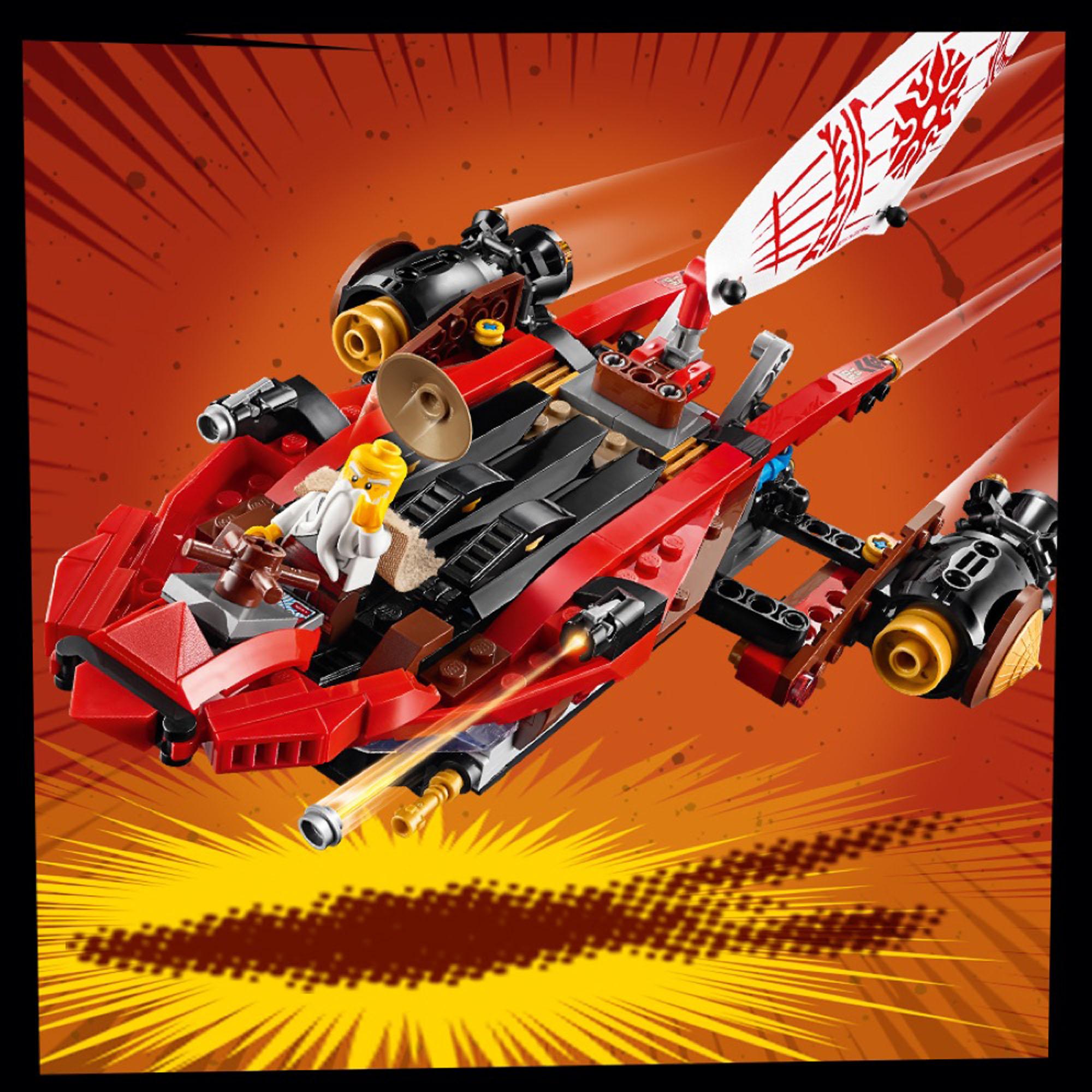 70677 LEGO Ninjago Land Bounty Vehicle Action-packed Set ...