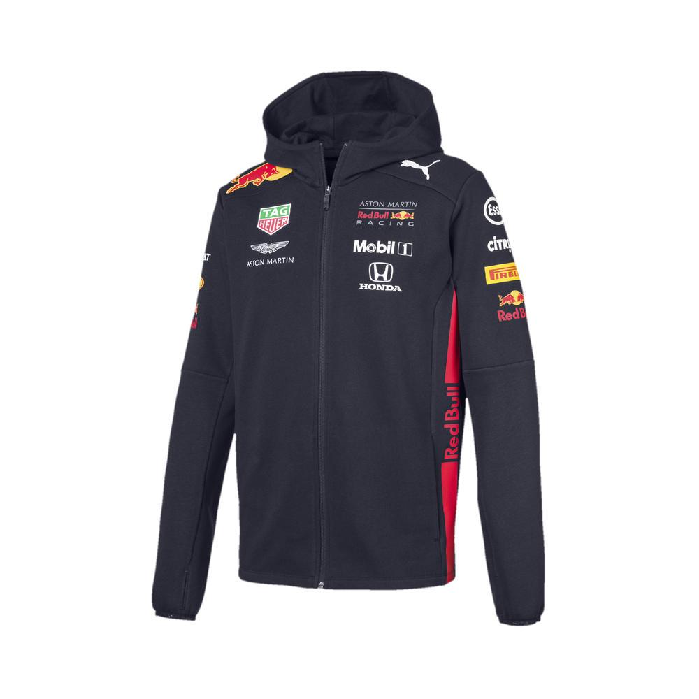 New! 2019 Red Bull Racing F1 Formula One Mens Hooded Sweat Jacket Hoody Hoodie