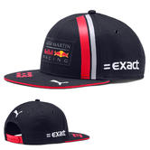 New! 2019 Max Verstappen Kids Flatbrim Cap Childrens Boys Red Bull F1 Team