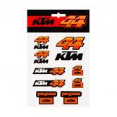 Pol Espargaro #44 2019 Official Sticker Set Decals Red Bull KTM Racing MotoGP