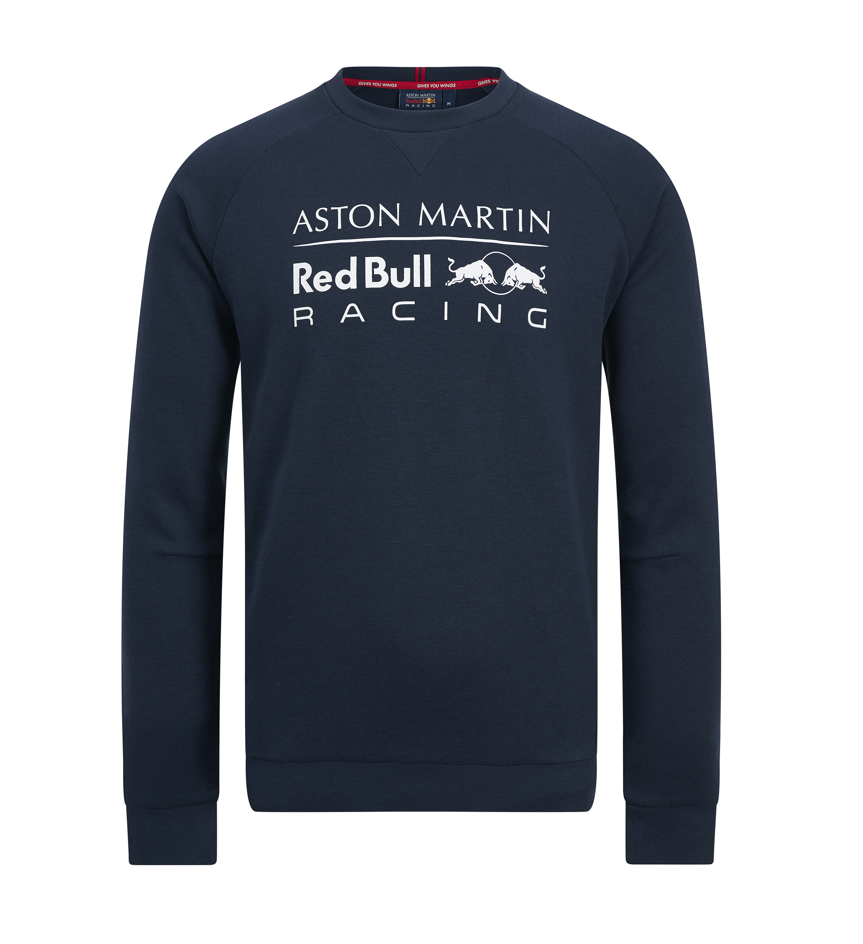 Nuevo 2019 Aston Martin Red Bull Racing F1 Para Hombre Cuello Redondo Sudadera Jumper Top Ebay