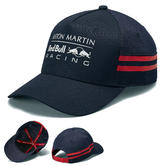 New! 2019 Aston Martin Red Bull Racing F1 Injection Curve Peak Cap in Navy/Red