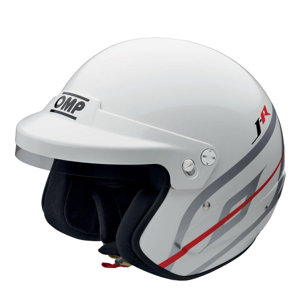 SC796 OMP Racing J-R Jet Open Face Helmet FIA 8859-2015 Race Rally