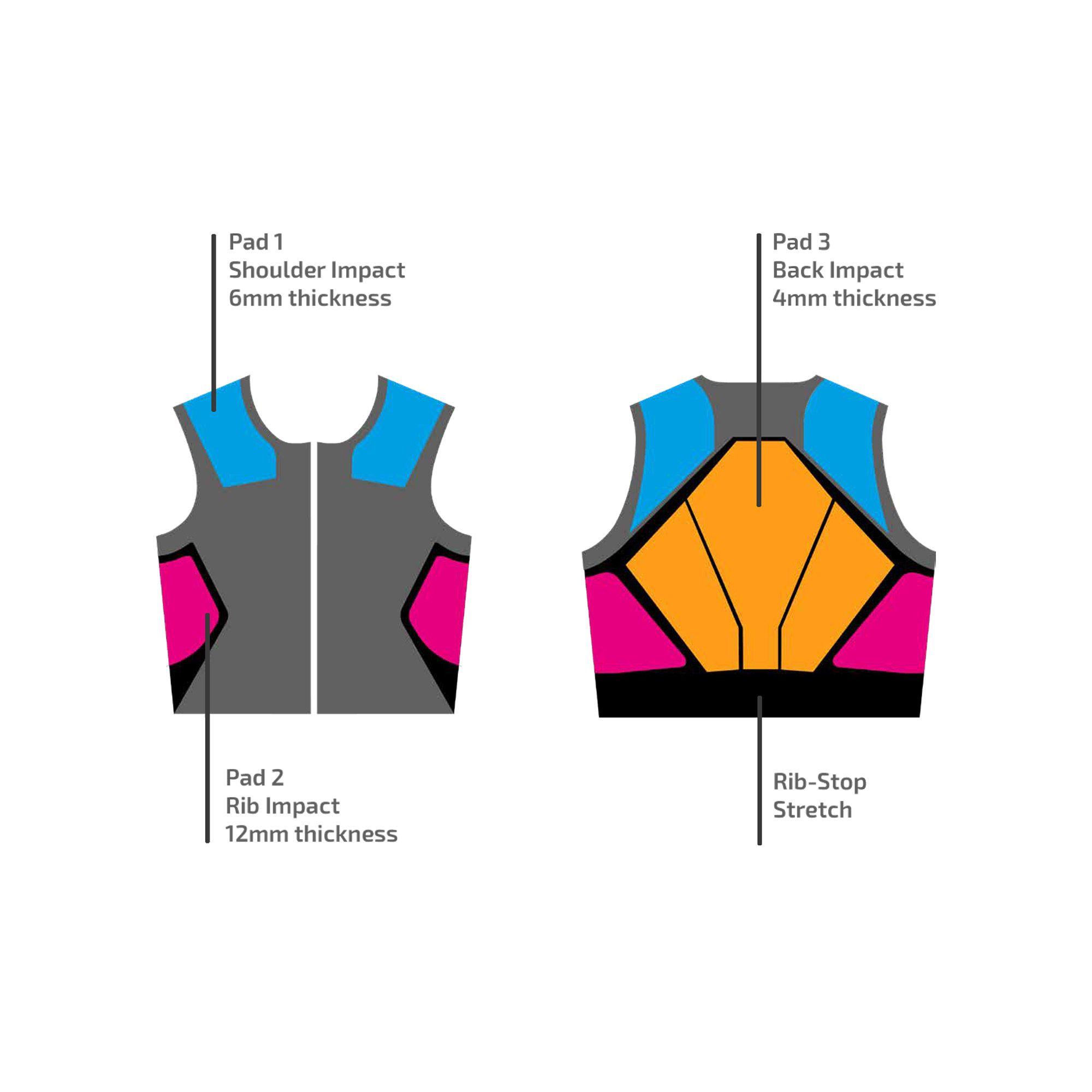 002402K-Sparco-SJ-PRO-K3-Karting-Kart-Protection-Vest-Jacket-Rib-Protector thumbnail 13