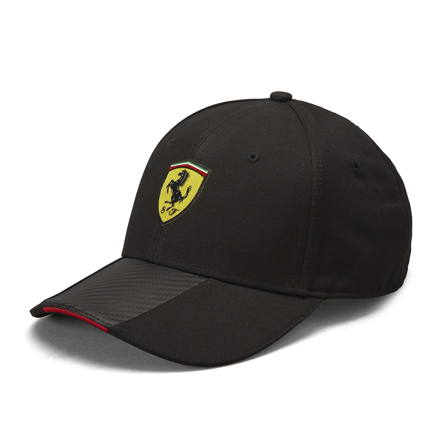 2019 Scuderia Ferrari Carbon Strip Baseball Cap Hat Adults Official Merchandise