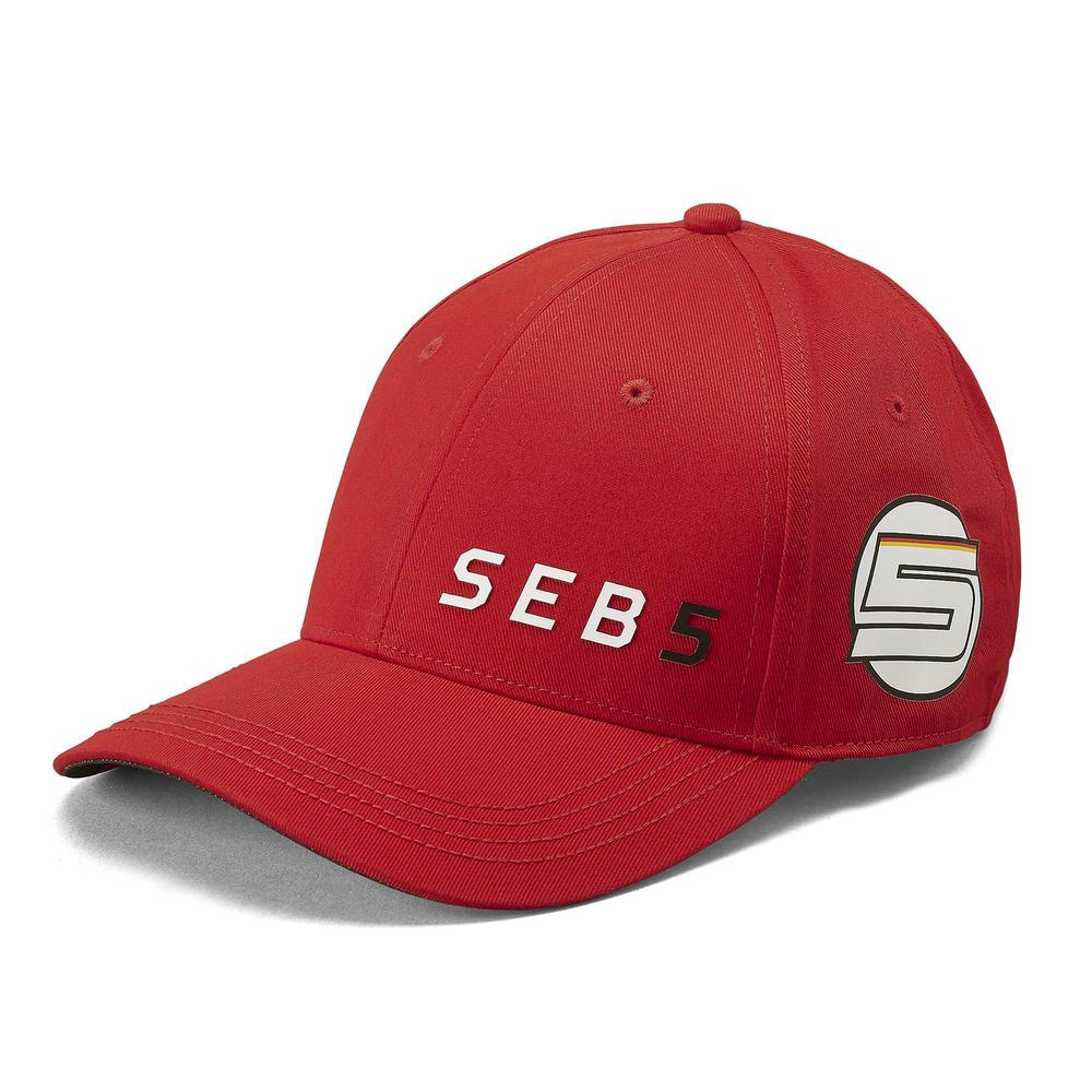 2019 Scuderia Ferrari Sebastian Vettel Baseball Cap Hat Adult Size Official