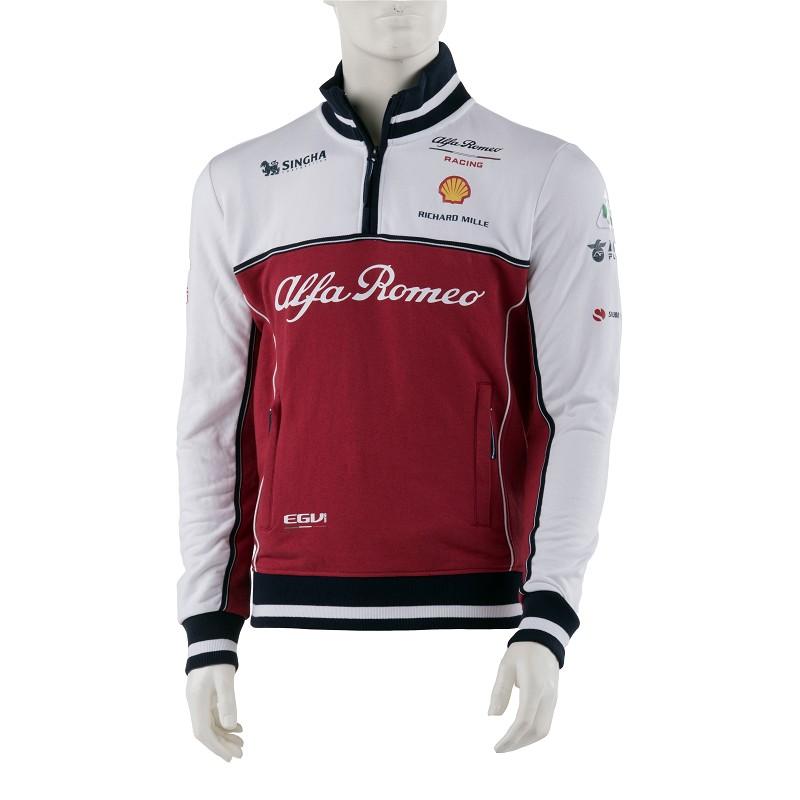 Sale! Alfa Romeo Racing F1 Team Mens Sweatshirt Jumper Official Formula One