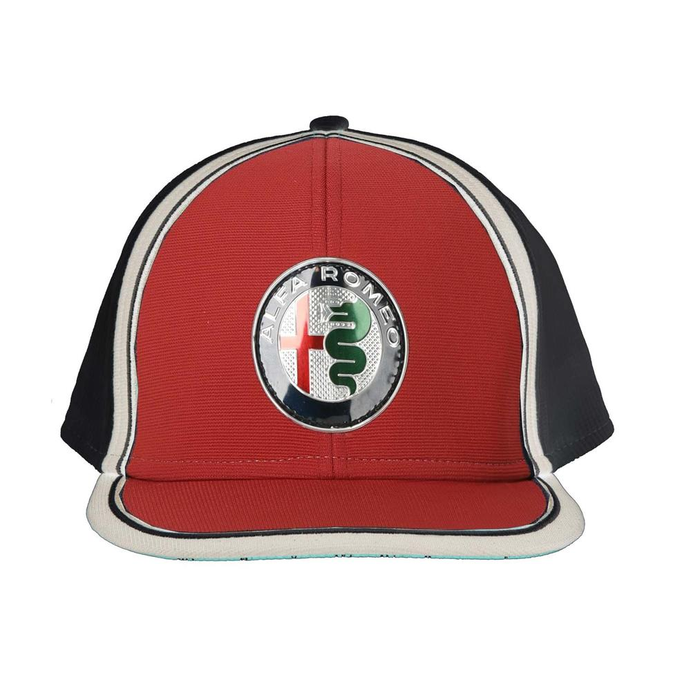 2019 Alfa Romeo Racing F1 Team Kids Baseball Cap Childrens Flat Brim Hat RED