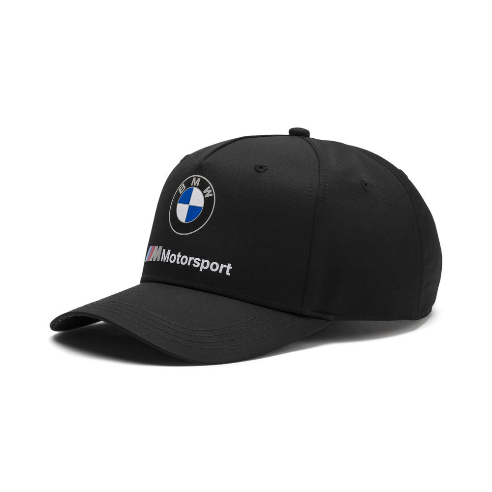 2019 BMW Motorsport Baseball Cap BLACK Hat Adults One Size Official Merchandise