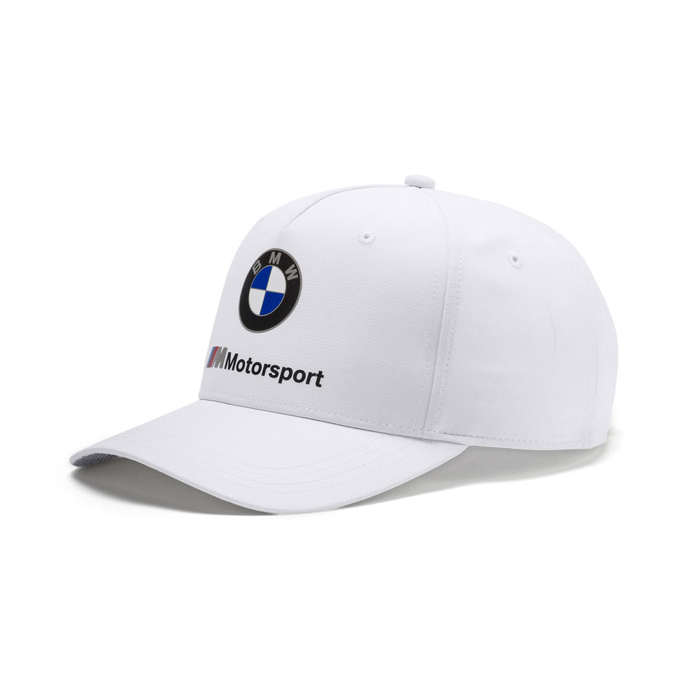 2019 BMW Motorsport Baseball Cap WHITE Hat Adults One Size Official Merchandise