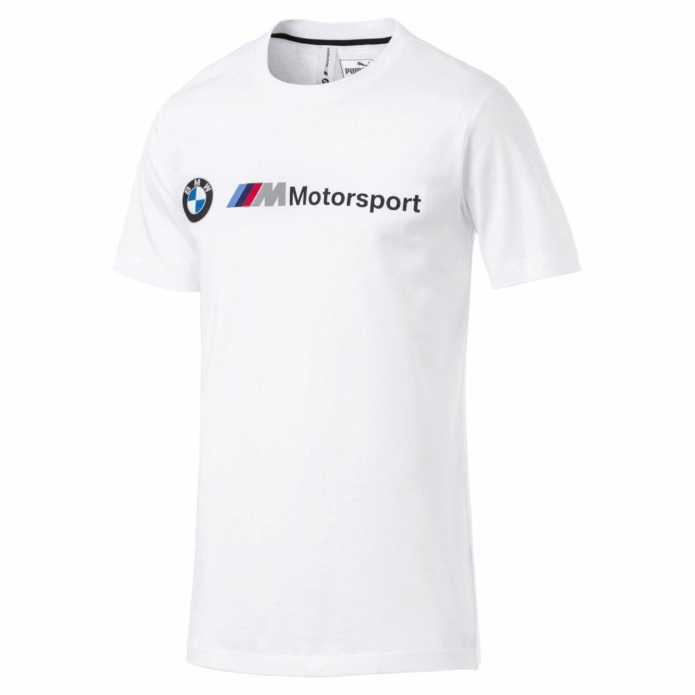 2019 BMW Motorsport Mens T-Shirt WHITE Tee Official Merchandise Sizes XS-XL