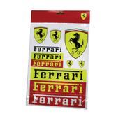 2019 Scuderia Ferrari Sticker Set Decals Pack of 11
