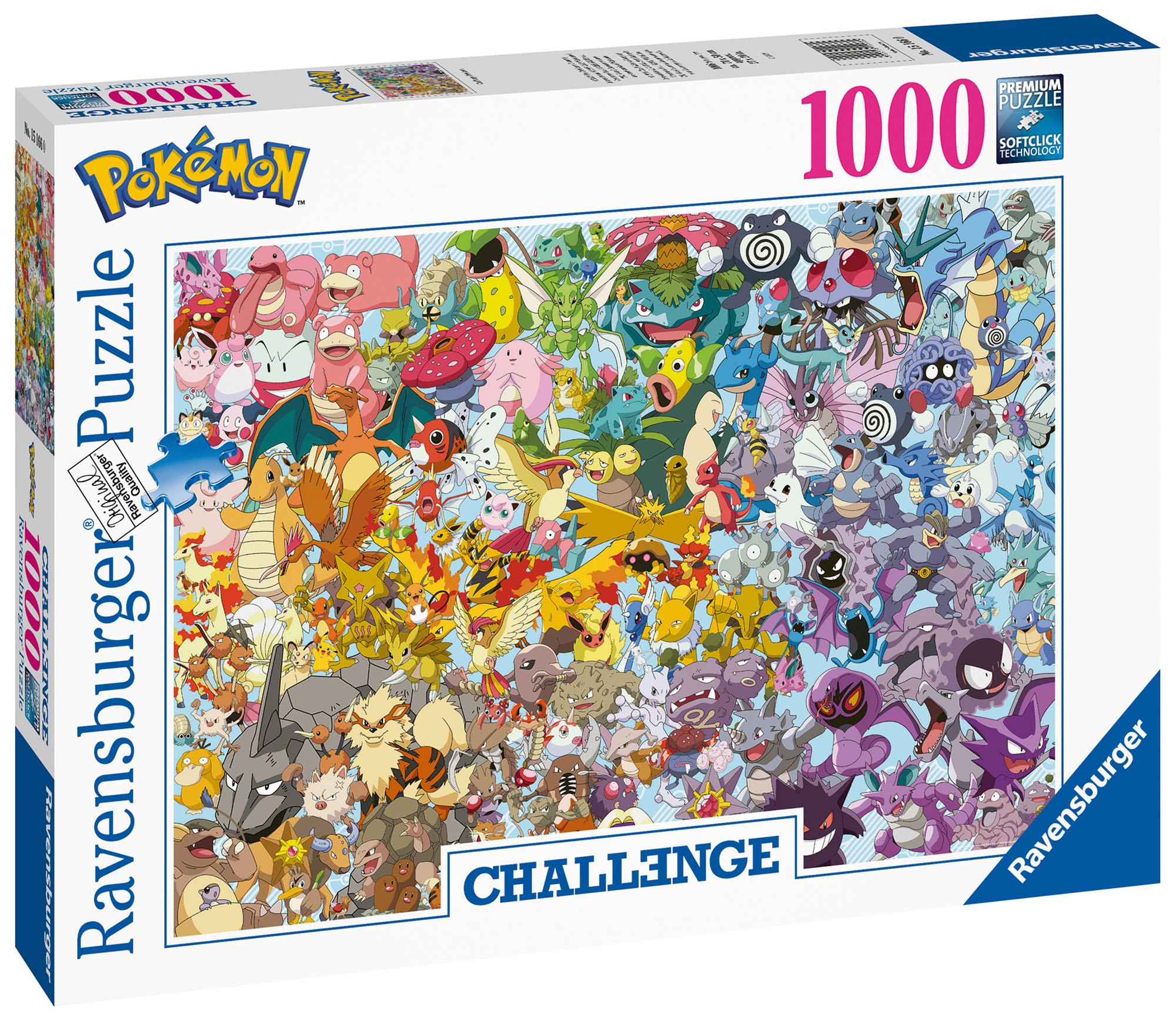 Image result for pokemon 1000 jigsaw