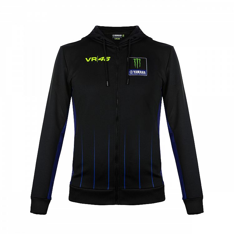 2019 Valentino Rossi VR46 Yamaha Racing Factory Mens Hoodie Full Zip Sizes S-XXL