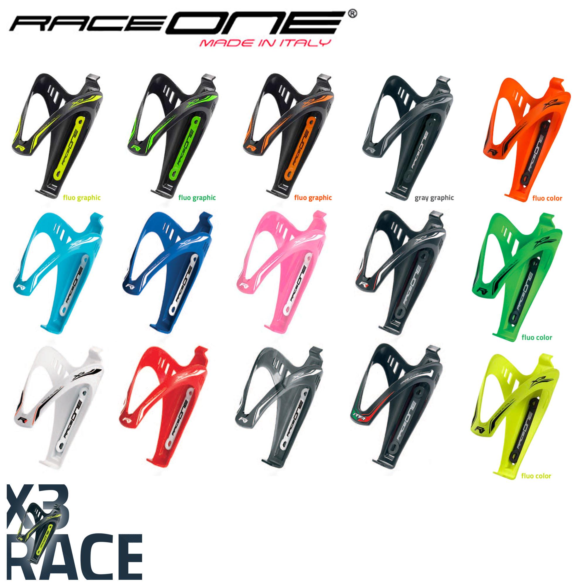 Raceone X3 Race Bottle Cage Holder for Cycling Biking MTB Bike 30 GRAMS