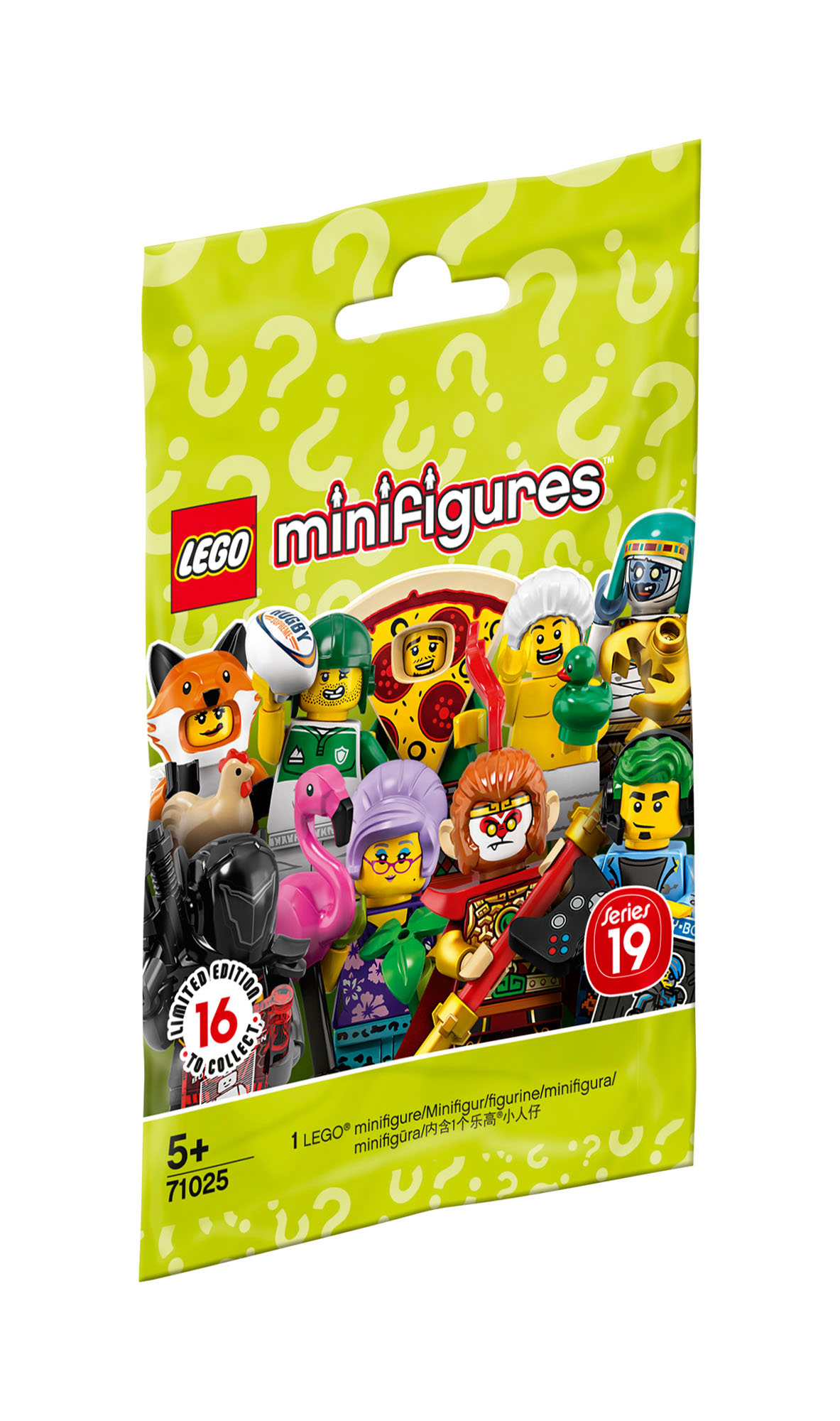 71027 LEGO Minifigures Series 20 includes x1 Random Figure Age 5 Years+