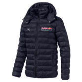 Red Bull Racing F1 Puma Mens Jacket Quilted Padded Lightweight NAVY Sizes S-XXL