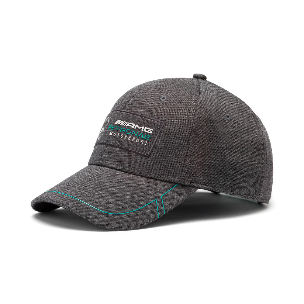 Mercedes AMG Petronas F1 Puma Baseball Cap BLACK Hat Adults One Size
