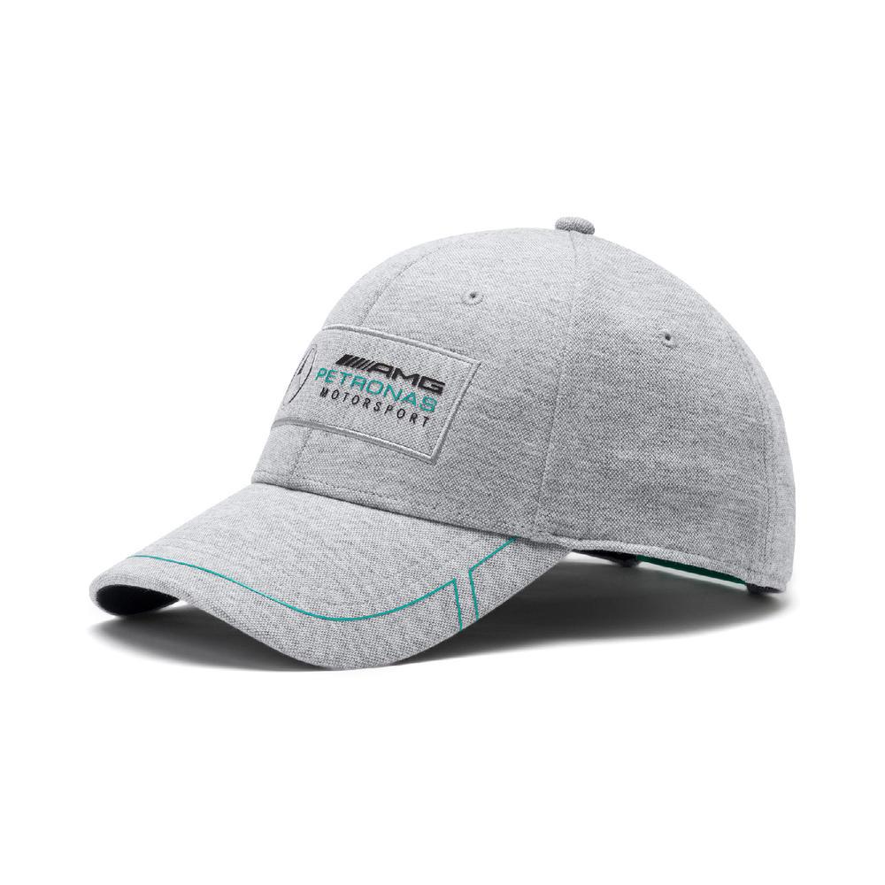Mercedes AMG Petronas F1 Puma Baseball Cap SILVER Hat Adults One Size